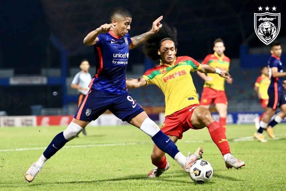 JDT's Bergson Da Silva in action against Selangor FC at the Petaling Jaya City Stadium July 28, 2021. — Picture via Facebook