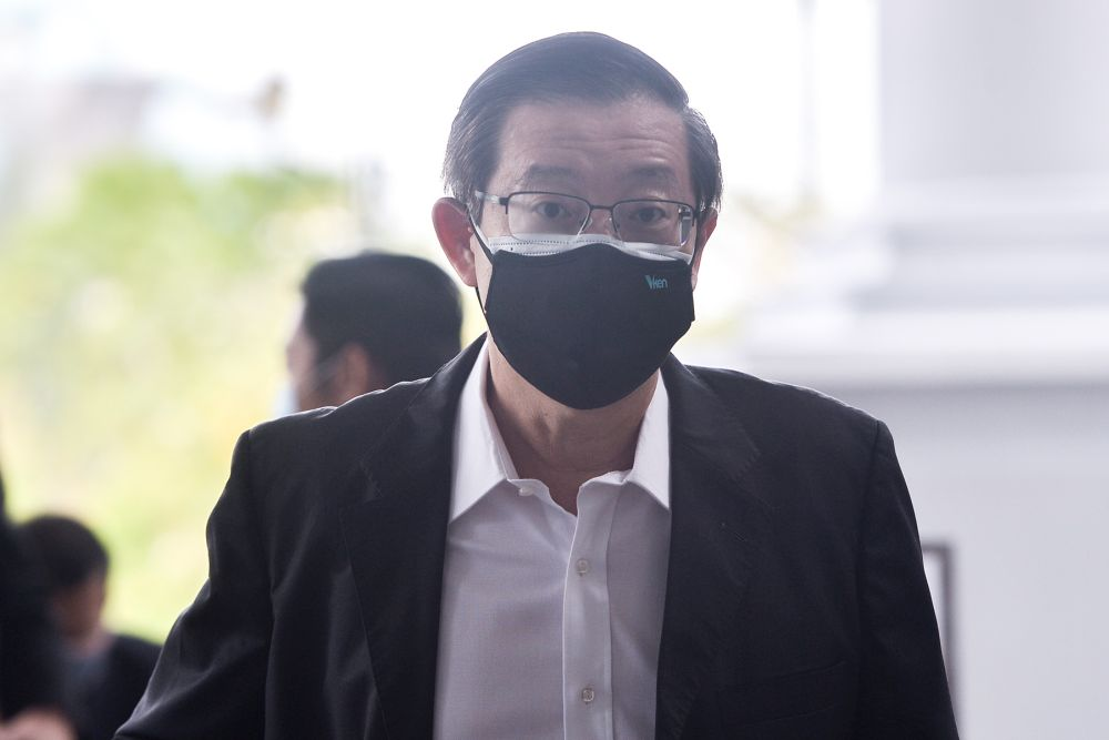 Lim said the government has yet to reveal how much of the RM5 billion has been appropriated from KWAN for the vaccine purchases to date. — Picture by Miera Zulyana