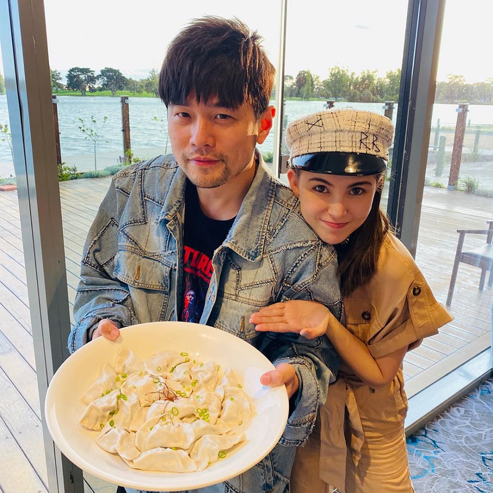 Taiwan's King of Mandopop Jay Chou and his wife Hannah Quinlivan have been lauded for doing charity work quietly. ― Picture via Instagram/jaychou
