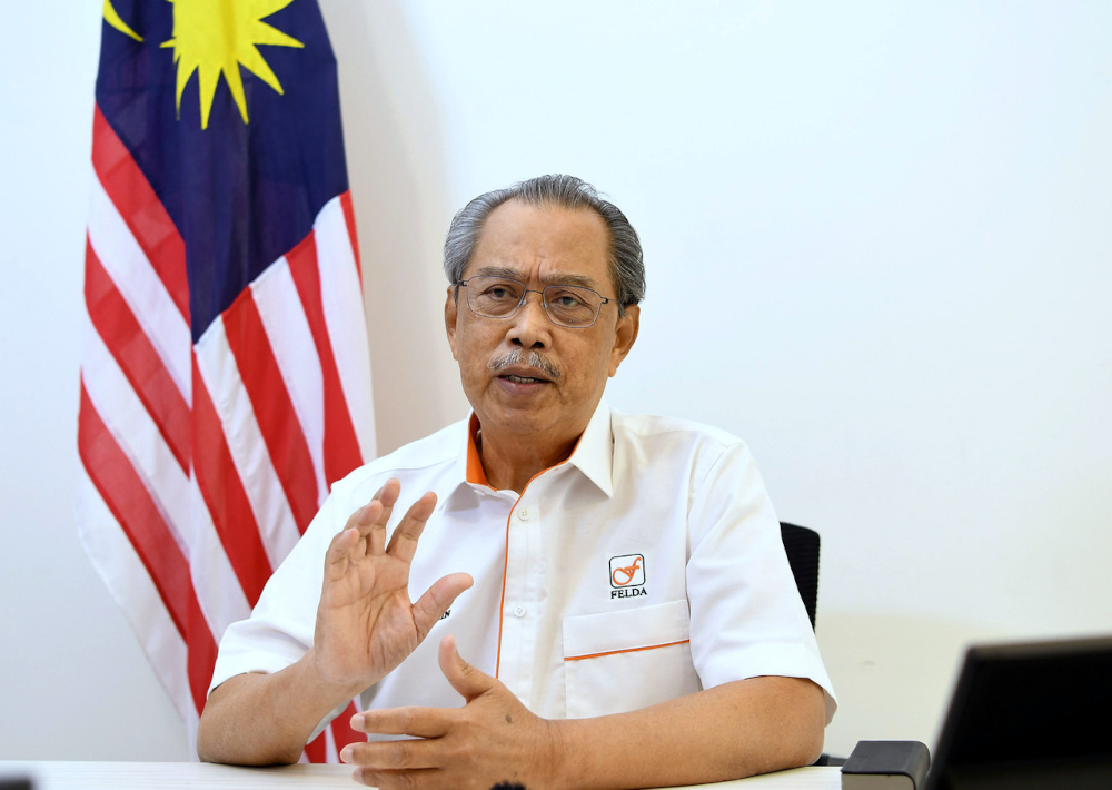 In a statement, the pact's presidential council said Tan Sri Muhyiddin Yassin has lost his legitimacy after Umno pulled its support for the Perikatan Nasional (PN) government as its largest ally. — Bernama pic