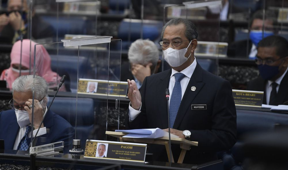 Shabudin claimed that several DAP members of parliament had been shouting while Prime Minister Tan Sri Muhyiddin Yassin was reciting the al-Fatihah for Covid-19 victims during the Special Sitting of Parliament yesterday. — Bernama pic