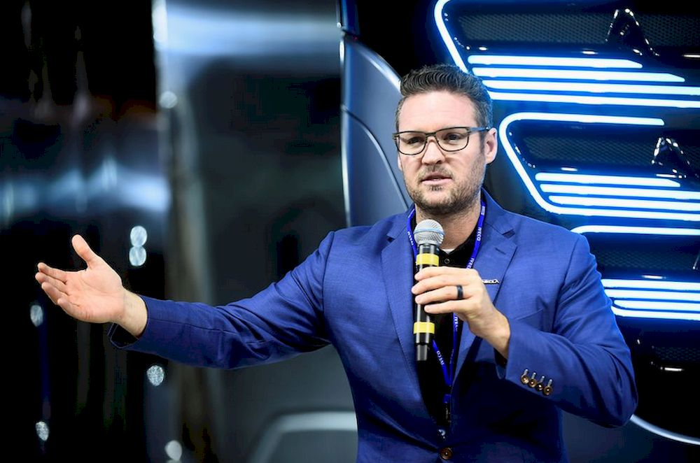 CEO and founder of US Nikola Trevor Milton attends a news conference held to presents its new full-electric and hydrogen fuel-cell battery trucks in partnership with US Nikola, at an event in Turin, Italy, December 3, 2019. — Reuters file pic