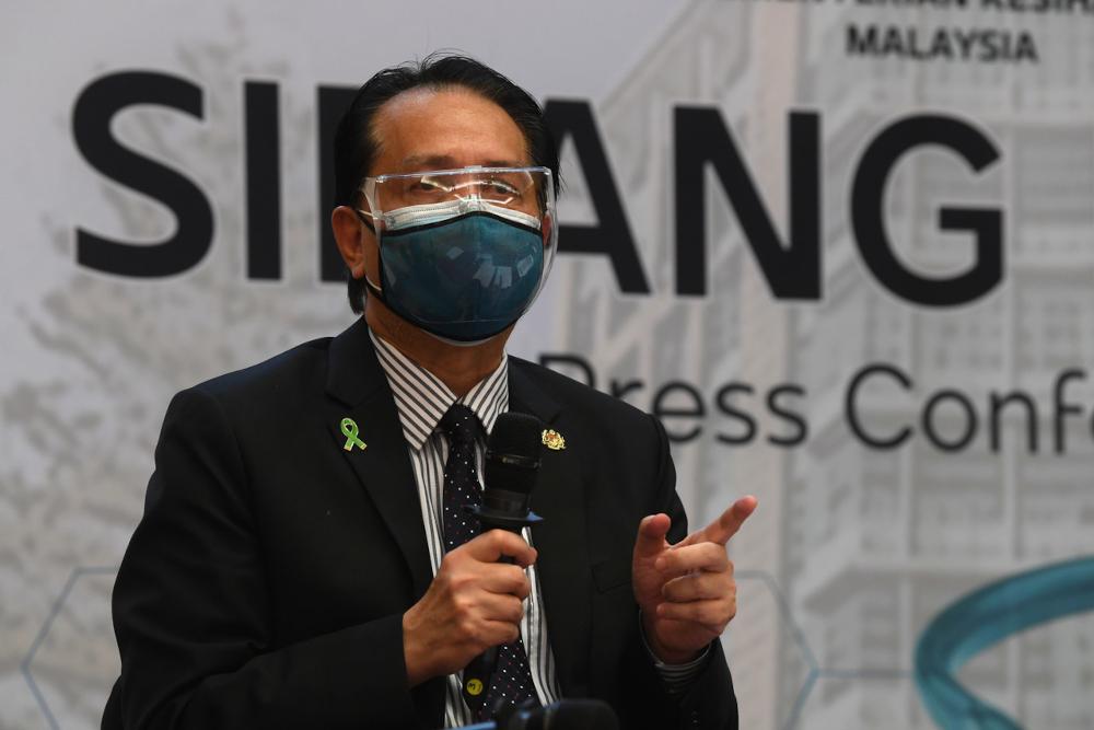 Health director-general Tan Sri Dr Noor Hisham Abdullah speaking at a special media conference in Putrajaya, July 13, 2021. — Bernama pic