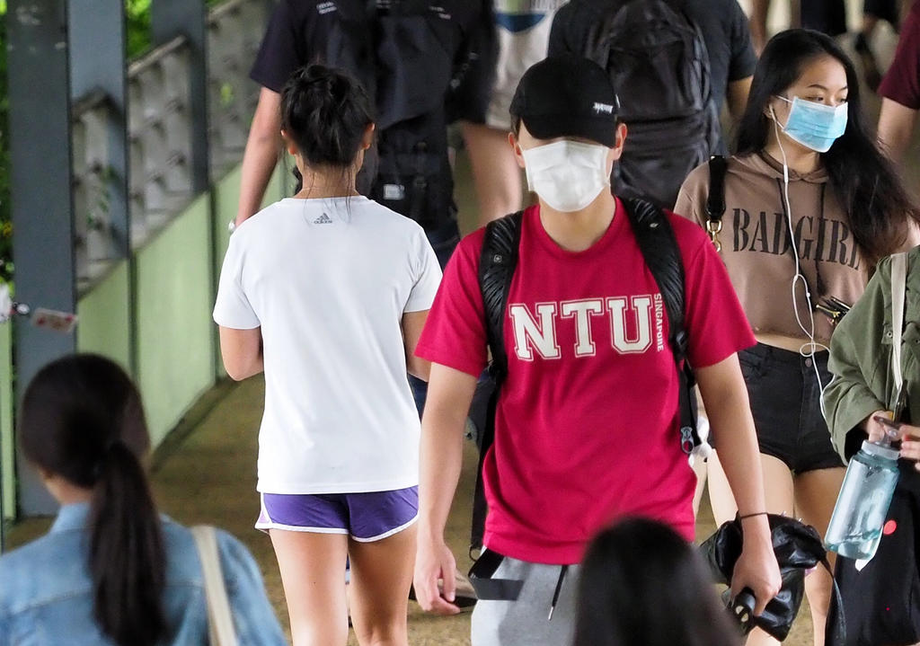 Nanyang Technological University said that it has had to review the number of hall places offered to students for the upcoming academic year as part of safety measures for Covid-19 and there has been an unusually strong demand for these places. ― TODAY pic
