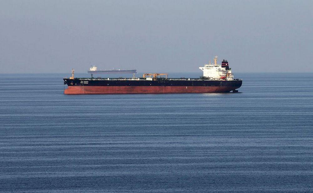 Oil tankers pass through the Strait of Hormuz, December 21, 2018. — Reuters pic