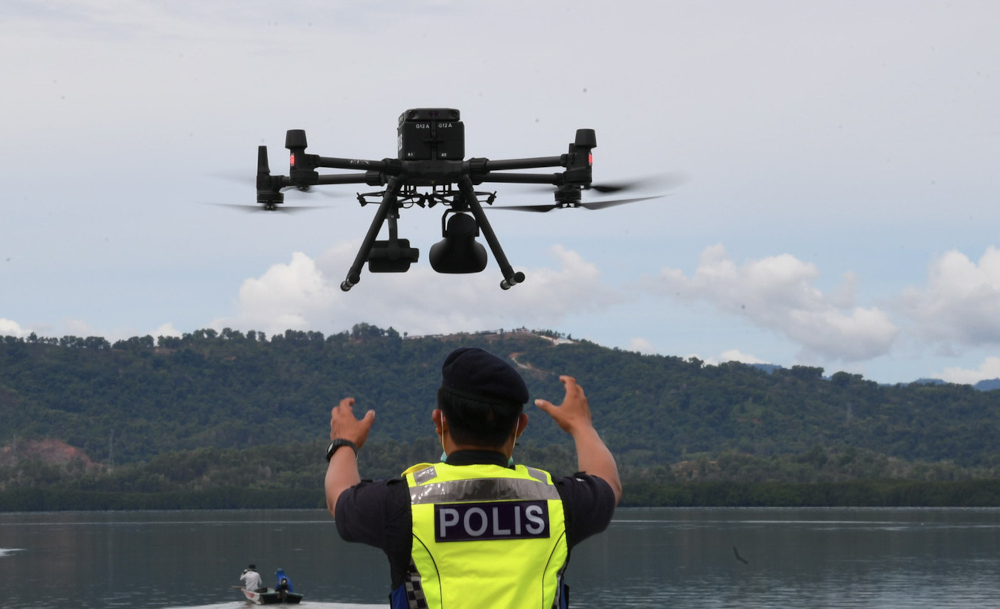 Bukit Aman Logistic and Technology department director Datuk Sahabudin Abd Manan said the procurement of the drones was approved under the 12th Malaysia Plan. — Bernama pic