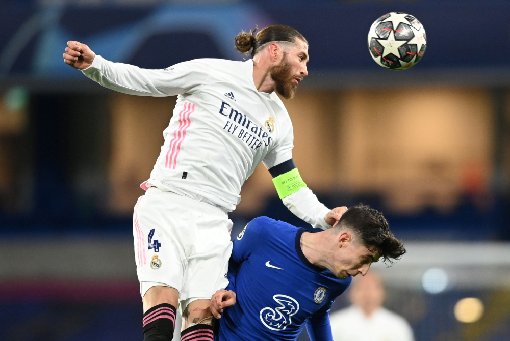 Sergio Ramos, 35, signed a two-year contract with PSG earlier this month after a storied career with Real Madrid where he won the Champions League four times. — Reuters pic