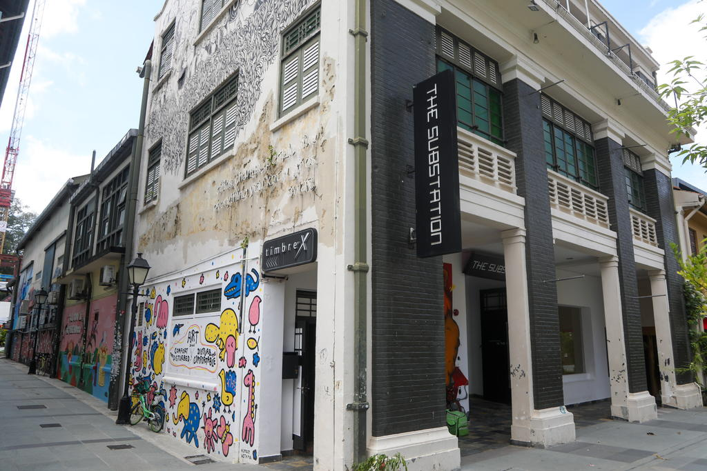 The Substation arts centre was housed in a conserved building, formerly a power substation, at 45 Armenian Street (pictured) for more than 30 years. — TODAY pic