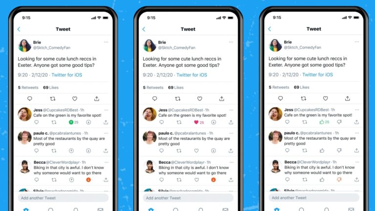 Twitter insists that the downvote feature is not quite like a 'dislike' button as they are testing the feature to learn more on the types of replies that users find relevant so they may work on ways to highlight more of them. ― SoyaCincau pic