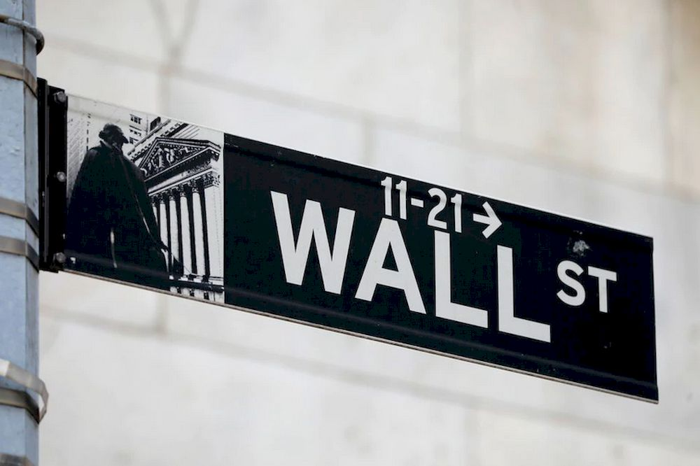 A street sign for Wall Street is seen outside of the New York Stock Exchange (NYSE) in New York City, New York, US, June 28, 2021. — Reuters pic