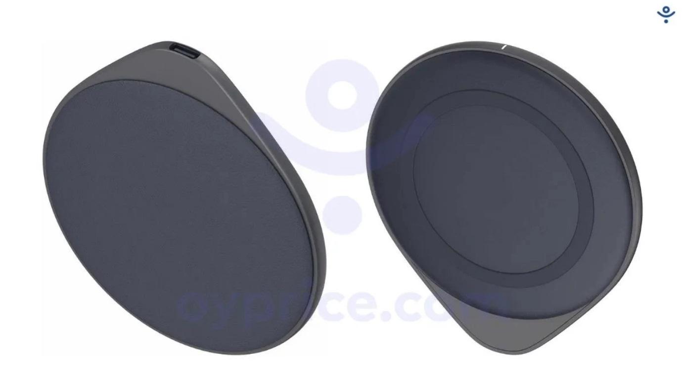 OPPO似乎采用了与苹果MagSafe无线充电器类似的设计。-图摘自Soya Cincau-