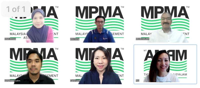 Malaysia Pest Management Association exco members during a virtual interview with Malay Mail. —  Picture courtesy of Malaysia Pest Management Association