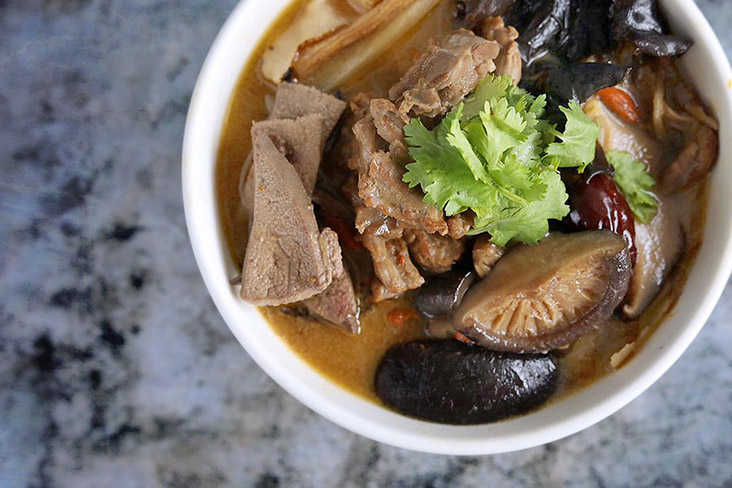 Warm yourself on rainy evenings with this 'ginger mother duck' stew. — Pictures by CK Lim