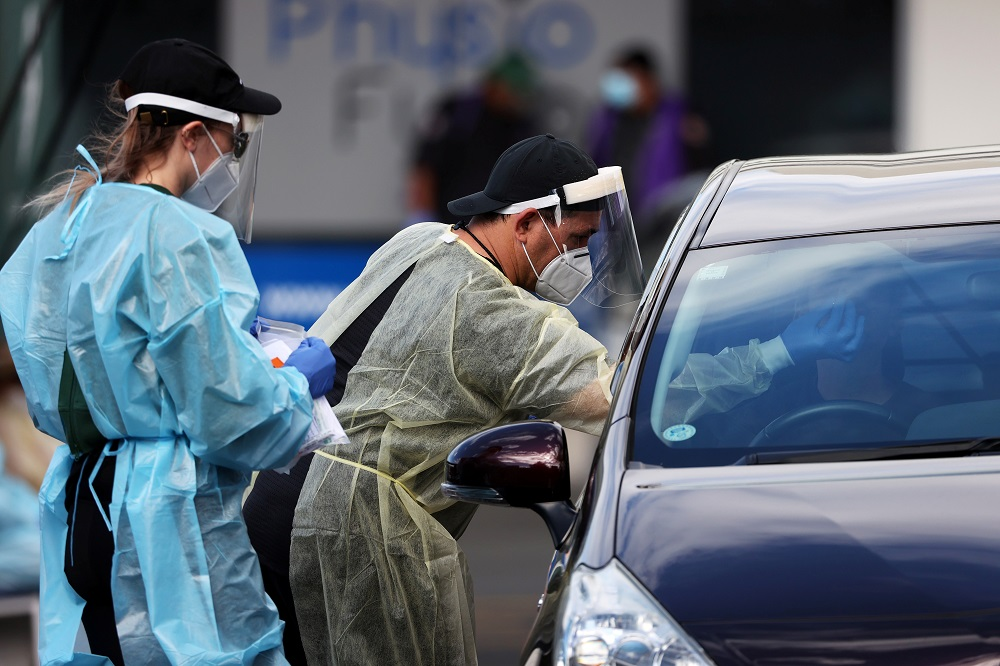 Auckland's lockdown has shut schools, offices and public places, with people allowed to leave home only for exercise or to buy essential items. In the rest of the country, the lockdown was lifted last week. ― Reuters pic