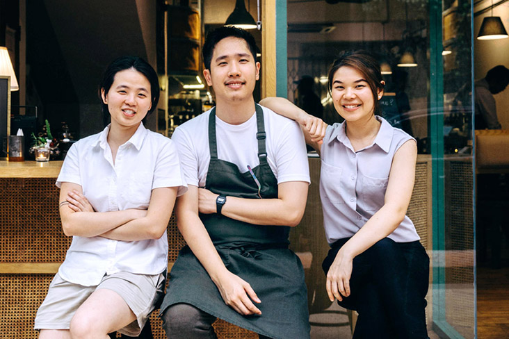 The founders of LI Damansara Jaya (left to right): Lim Yee Rui, Lim Heng Kit and Lee Ziyan. — Pictures courtesy of LI Damansara Jaya