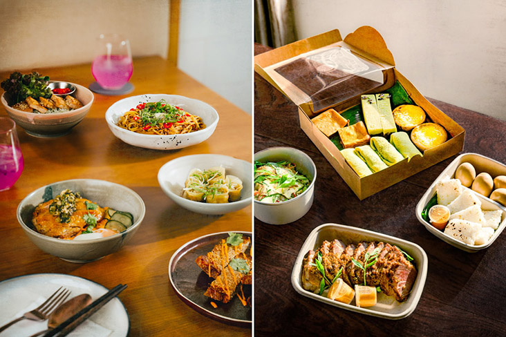 From dine in to takeaway/delivery, LI Damansara Jaya has adapted according to the times.