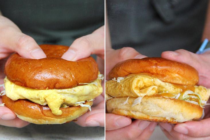 Homage to Malaysian street food: LI Damansara Jaya's Burger Special.