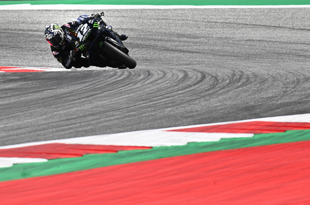 Maverick Vinales, 26, who was Moto3 world champion in 2013, has signed an annual contract with an option for renewal and will line up alongside compatriot Aleix Espargaro next season. — AFP pic