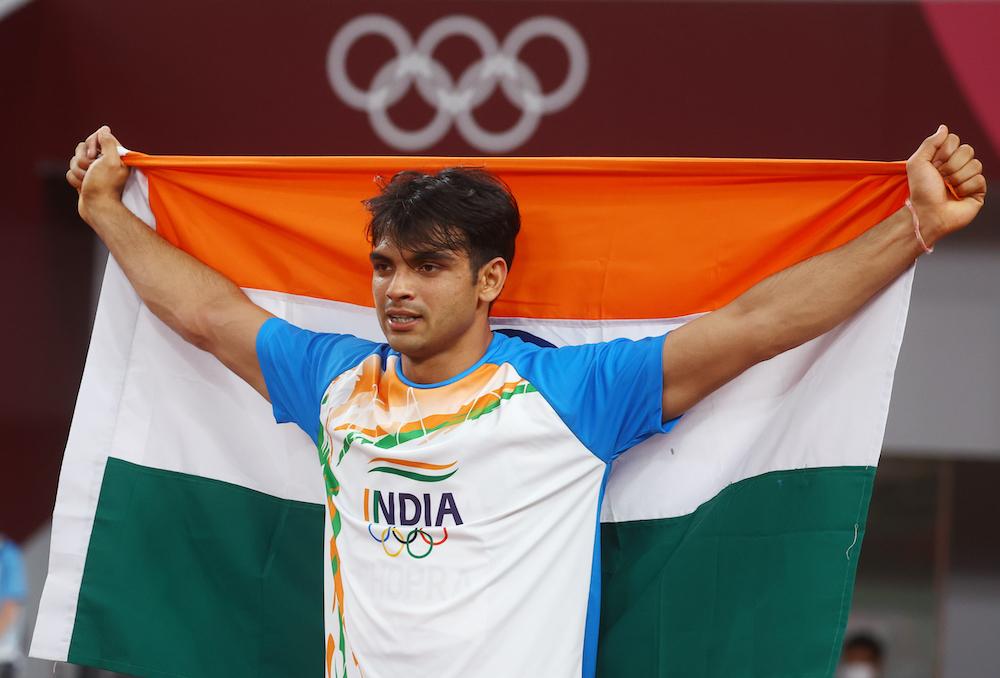 Neeraj Chopra's win helped India bring home its biggest medal haul ever. — Reuters pic