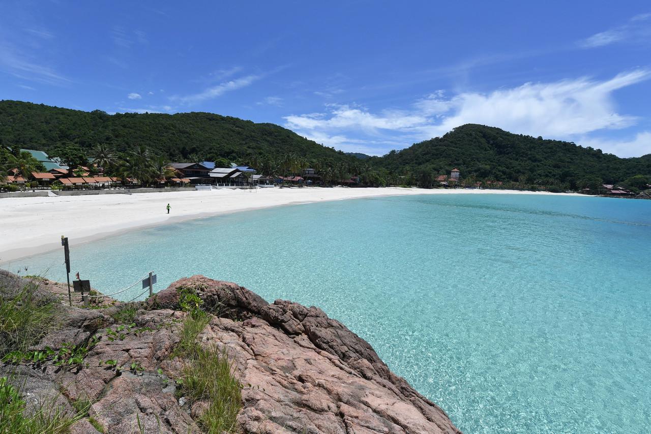 A general view of Pulau Redang August 1, 2021. — Bernama pic