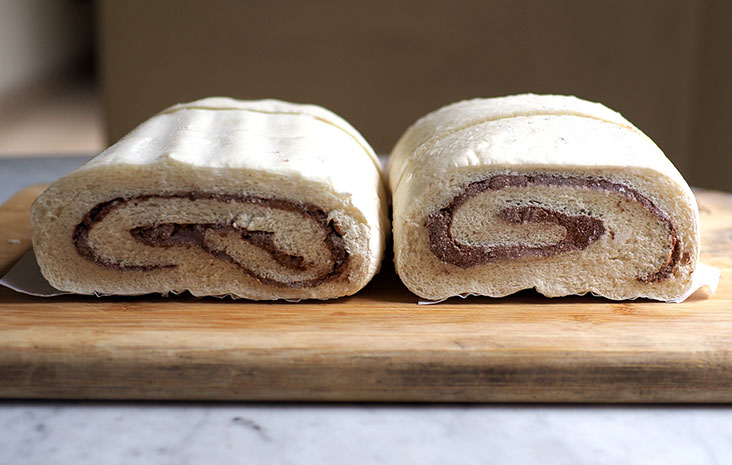 You can also order the pillow buns with just red bean paste