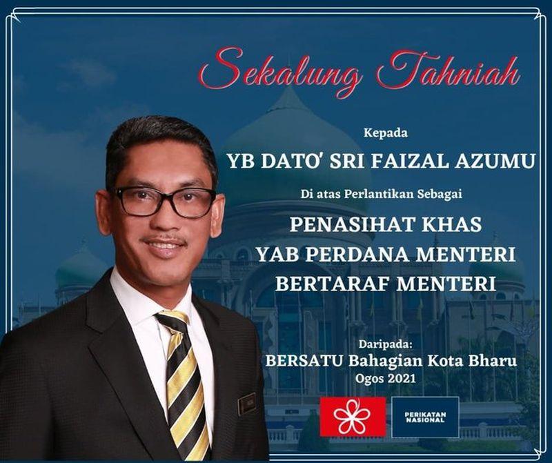 Perak Bersatu secretary Datuk Zainol Fadzi Paharudin has rejected this poster of Datuk Seri Ahmad Faizal Azumu supposed appointment as the prime minister's adviser as fake.