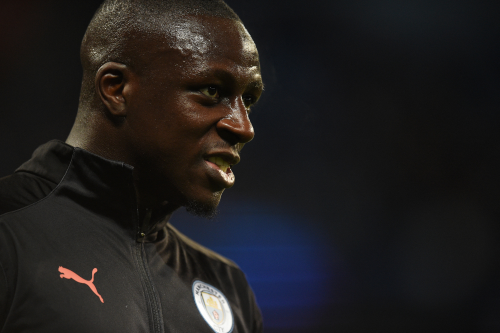 Manchester City suspended Benjamin Mendy August 26, 2021 after Cheshire police confirmed the Frenchman has been charged with four counts of rape and one count of sexual assault. — AFP pic