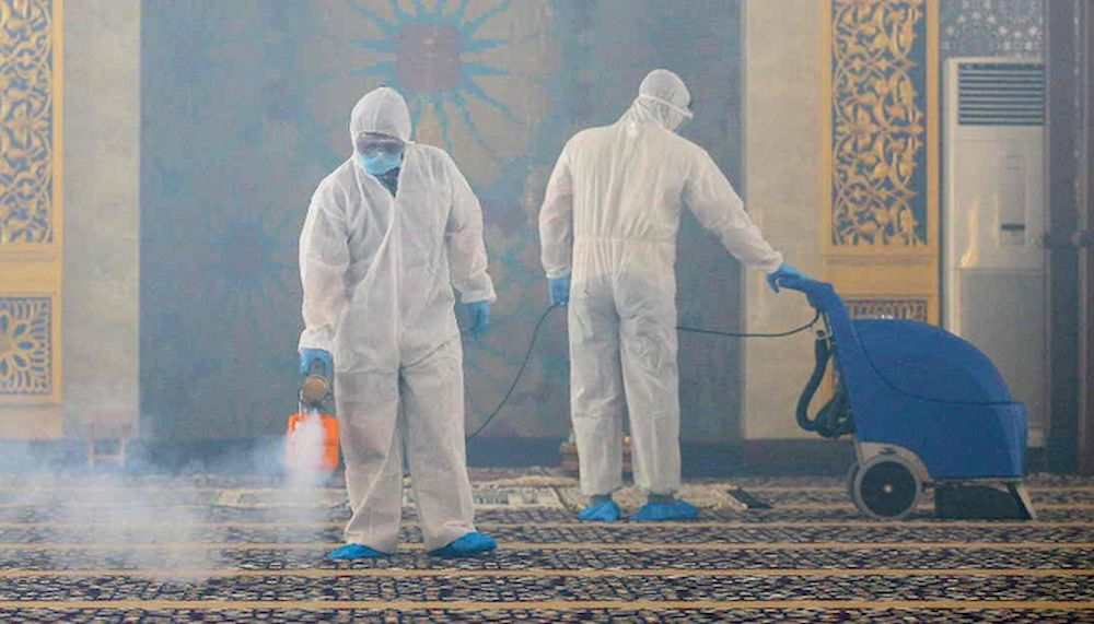 Brunei has implemented strict quarantine rules for inbound travellers and reported 406 infections since the onset of the pandemic. — AFP pic