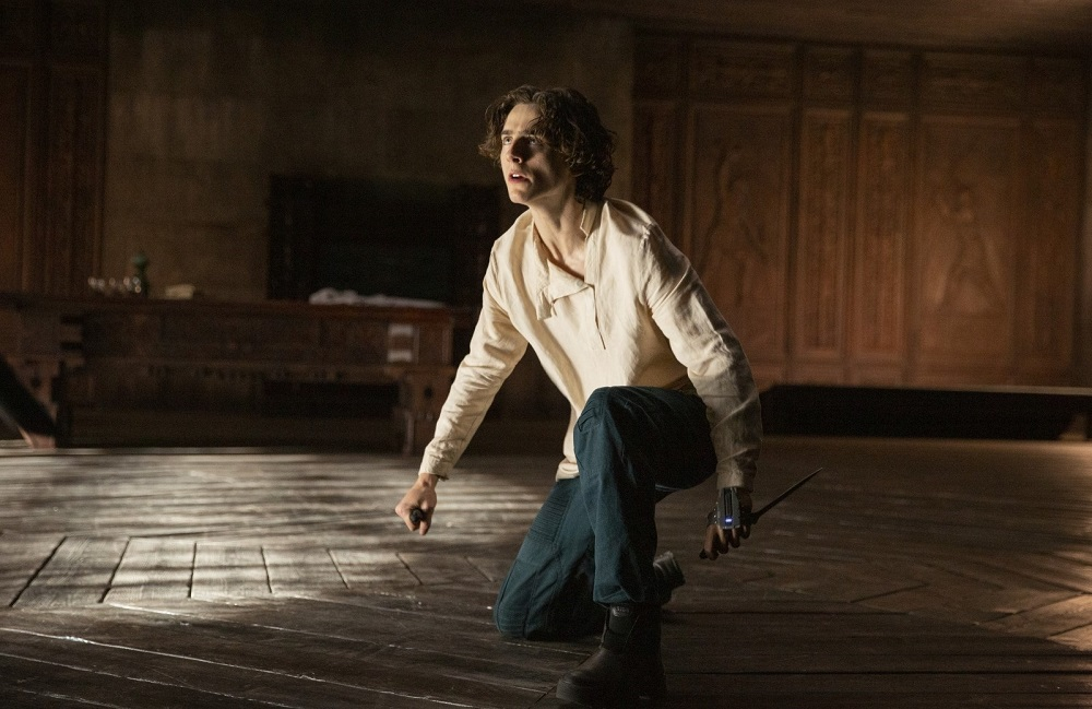 Actor Timothée Chalamet in 'Dune'. ― Picture courtesy of Warner Bros Entertainment
