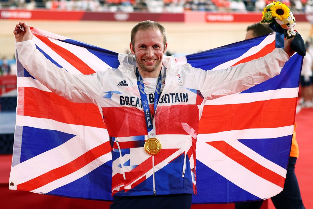 Jason Kenny contributed to Great Britain's gold haul, where the country ended up fourth on the medals table. — Reuters pic