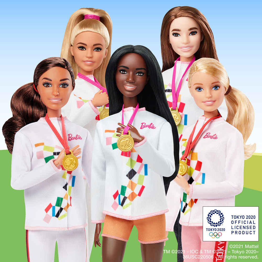 Toymaker Mattel has apologised for its lack of Asian representation in its Tokyo Olympics collection. ― Picture via Twitter/ @Barbie
