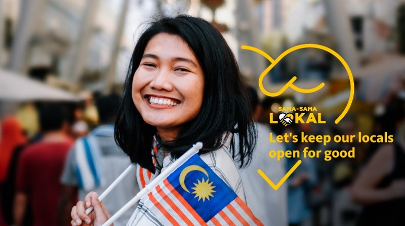 In the spirit of the National Month, Maybank encourages Malaysians to support local businesses to get through the tough times. ― Picture courtesy of Maybank Malaysia