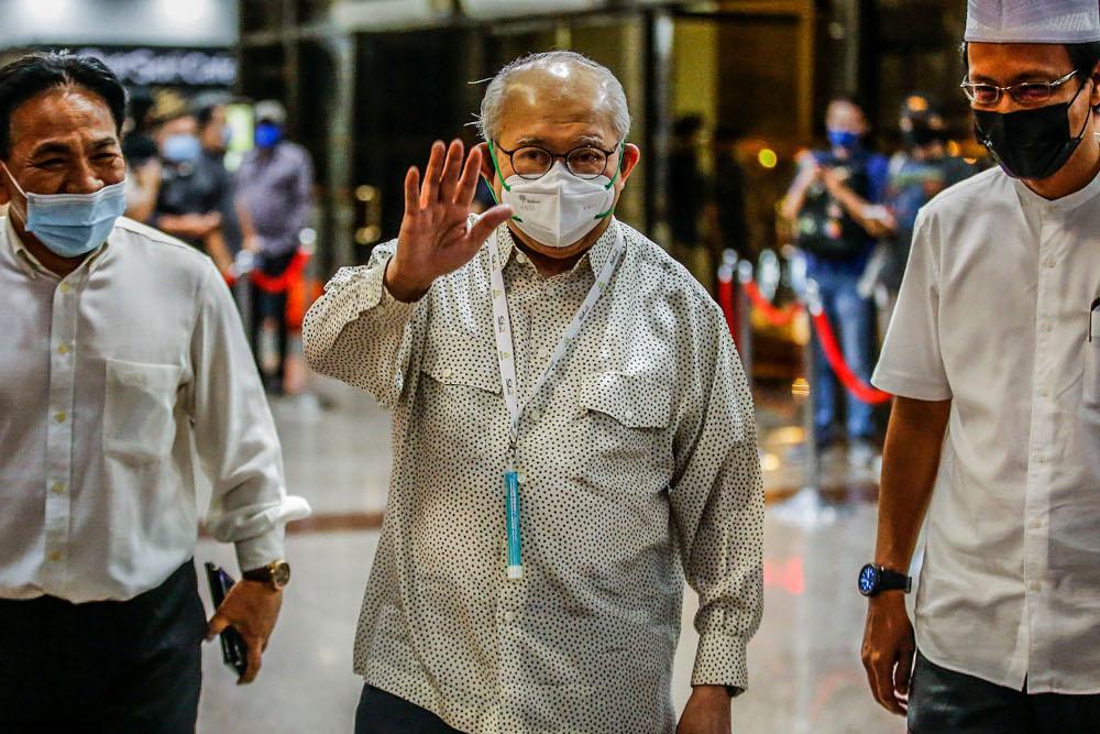 Gua Musang MP Tan Sri Tengku Razaleigh Hamzah has resigned as chairman of the Umno Advisory Board. — Picture by Hari Anggara