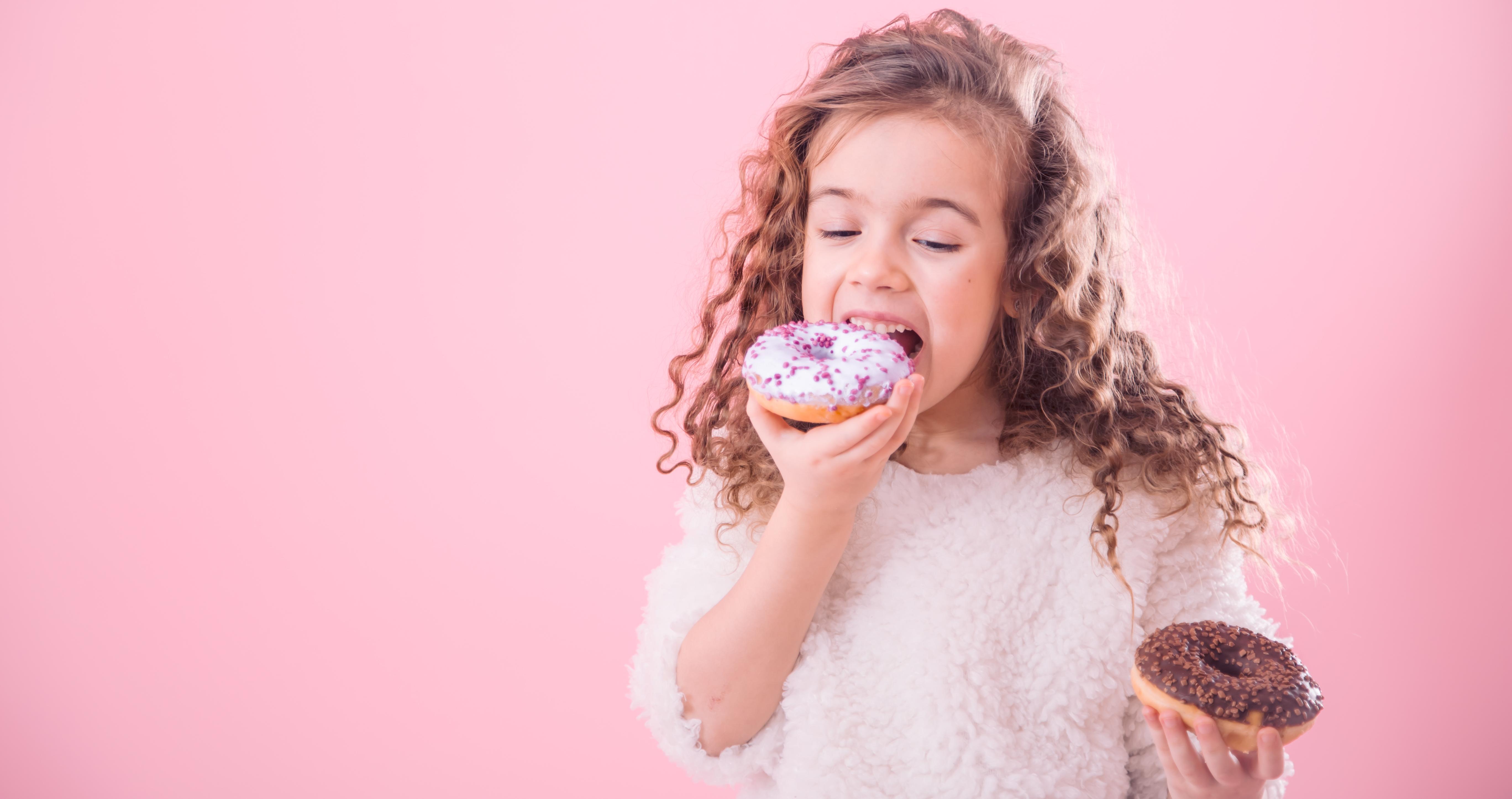 大多数不爱吃蔬菜的孩子都喜欢吃甜食。-图取自freepik-