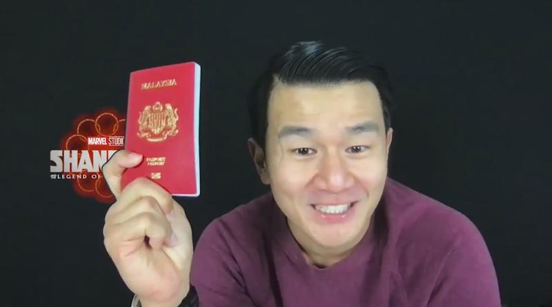 Chieng 证明他仍然是一个马来西亚人,同时祝马来西亚人马来西亚日快乐。  — 截图来自 Twitter/Marvel Studios Malaysia
