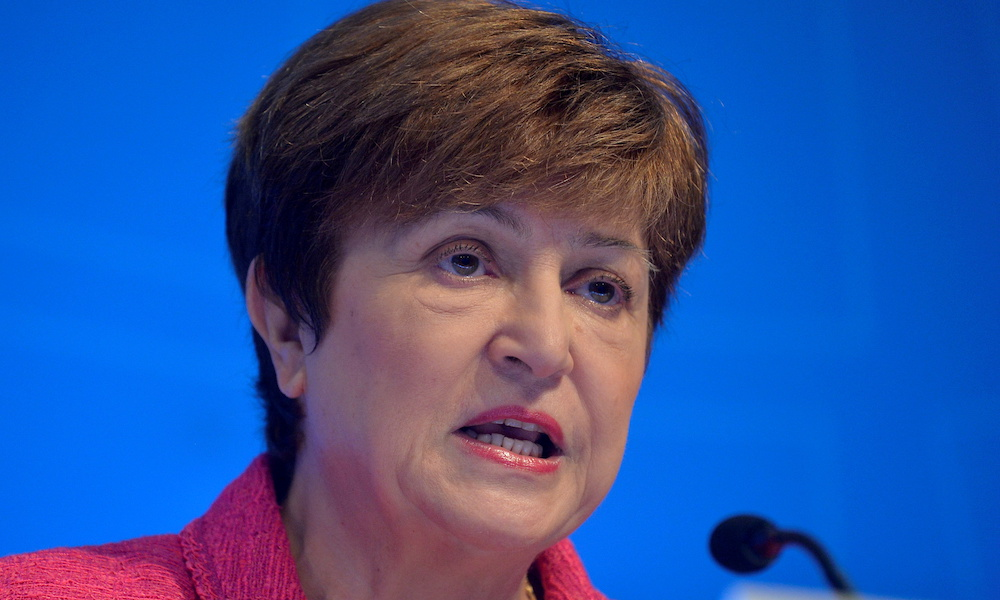 IMF chief Kristalina Georgieva survived the threat to her leadership, but former US Treasury officials and other experts have warned that the scandal has dented the research reputation of both the IMF and the World Bank. — Reuters pic