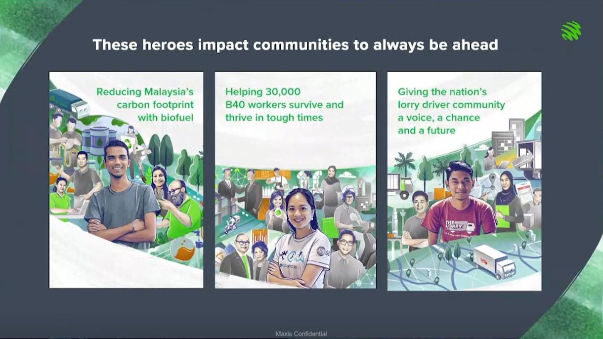 """明讯(Maxis)推出首届""""明讯奖(Maxis Awards)""""以表彰和支持为社会带来贡献及正面影响的英雄。-Maxis供图-"""