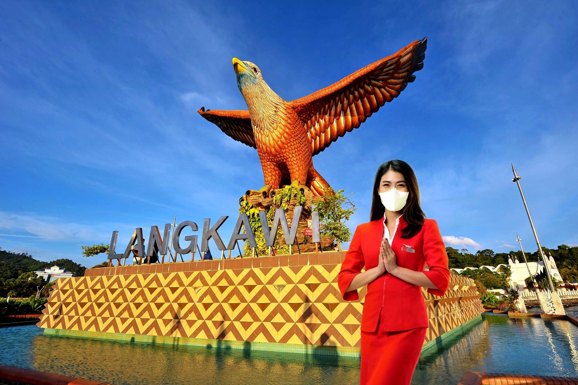 亚航实施严格的安全措施,准备好在马来西亚日(9月16日)迎接乘客登机!-亚航提供-