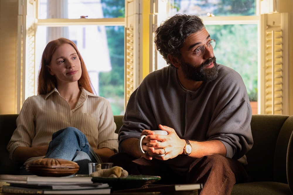 Chastain and Isaac play Mira and Jonathan in the HBO limited series. — Picture courtesy of HBO GO