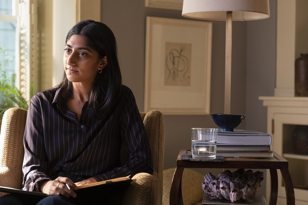 The series begins with a PhD student (Sunita Mani) studying how changing gender roles affect monogamous marriages. — Picture courtesy of HBO GO