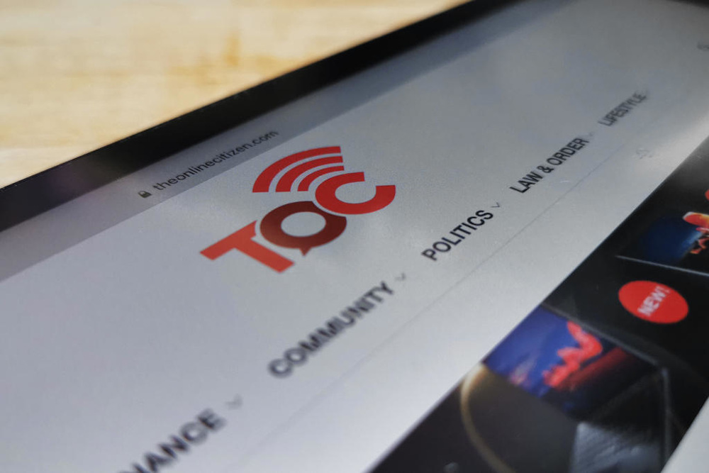 TOC has until 3pm on September 16, 2021 to disable its website, social media channels and accounts. — Samuel Woo/TODAY pic