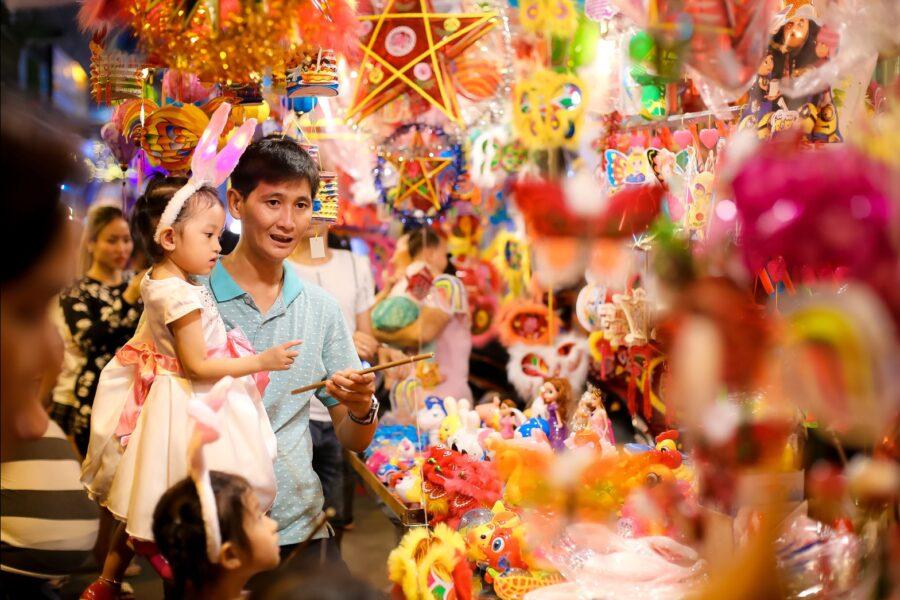 在越南,中秋节也被称为儿童节。-图取自网络-