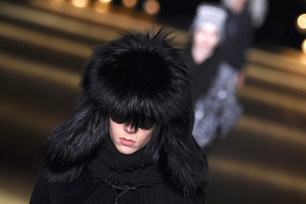 French high-end fashion brand Saint Laurent will stop using fur in its collections from next year, its parent company Kering said on September 24, 2021. — AFP pic