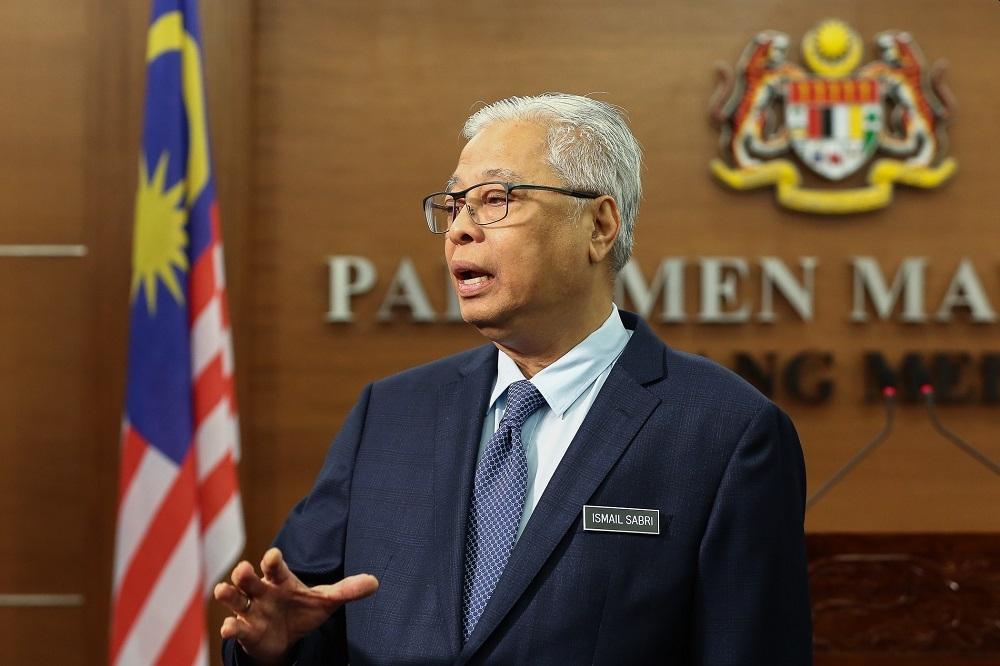"""依斯迈沙比里呼吁人民团结一致,加强""""马来西亚一家""""的团结精神。-Yusof Mat Isa摄-"""