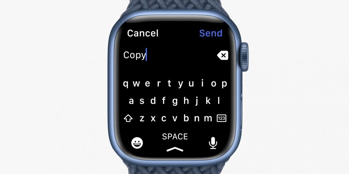 Kosta Eleftherious声称,苹果公司抄袭他所开发的Apple Watch键盘应用程序。-图摘自Soya Cincau-