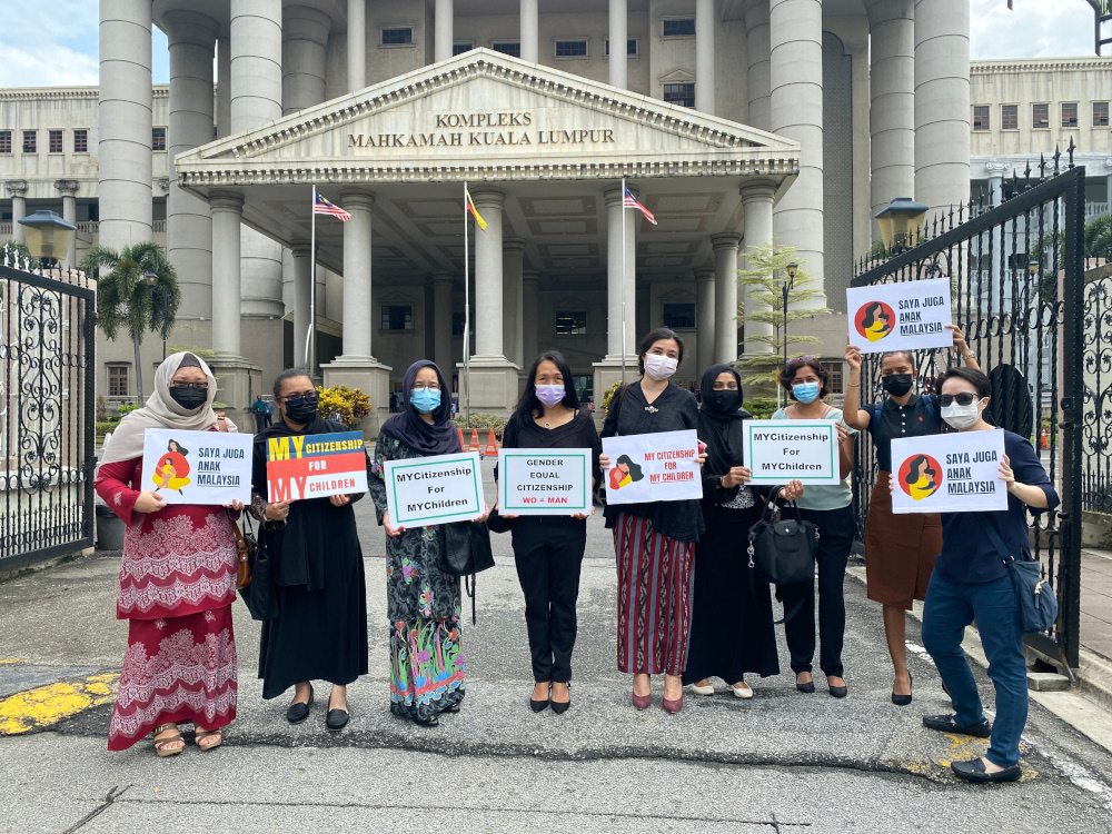 Family Frontiers, which had together with six Malaysian mothers won the lawsuit on Thursday last week, said it was 'appalling' that the government had made the move to appeal the court decision. — Picture courtesy of Family Frontiers