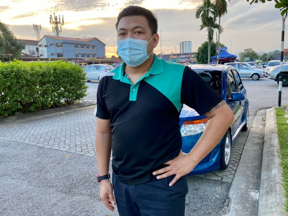 Sarawakian Rekan Ligong, 32, hopes that in the years to come, Malaysians can accept our differences and come together as one. — Picture courtesy of Rekan Ligong