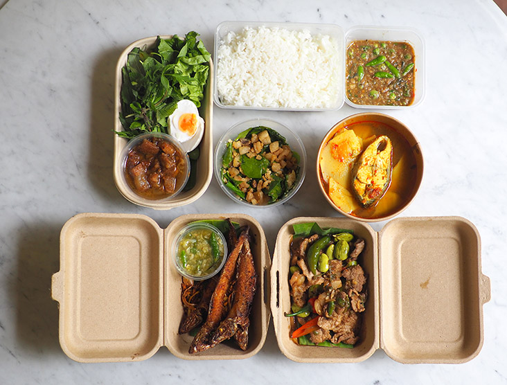 Your family meal comes in various packaging making it a huge feast