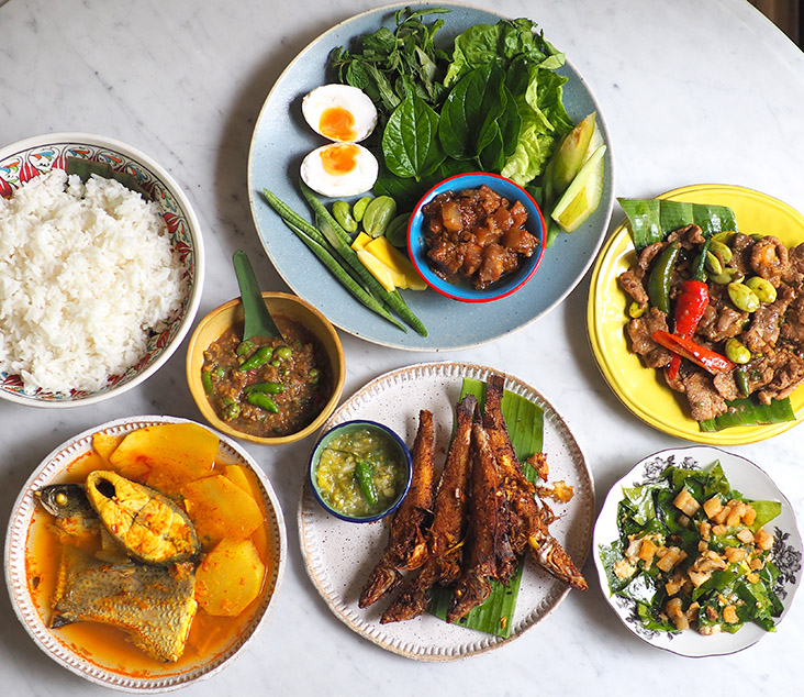 For the weekend, you can feast on true blue Thai dishes with Homm Homm The Project's family meals — Pictures by Lee Khang Yi