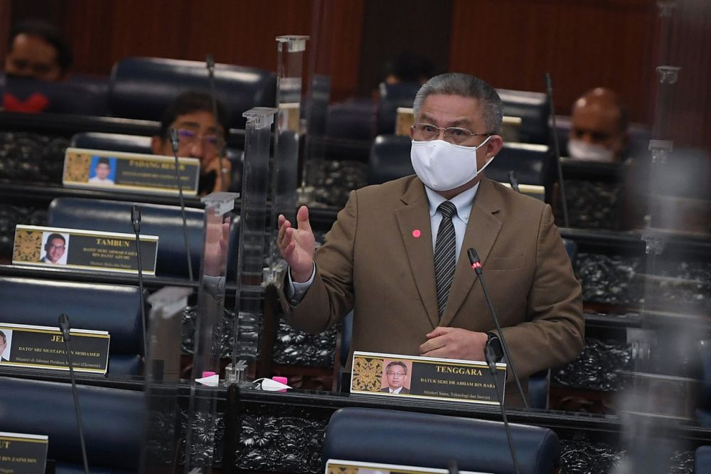 Minister Datuk Seri Dr Adham Baba said Mosti would also set up a comprehensive platform known as MyStartup by the end of the year to boost the development of startups in Malaysia. — Bernama pic